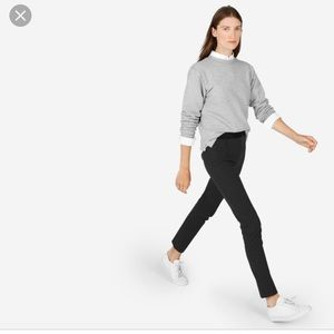 Everlane Stretch Ponte Skinny Pants Charcoal 10